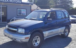 Used 2002 Chevrolet Tracker for sale in Black Creek, BC