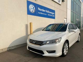 Used 2013 Honda Accord Sedan TOURING LOADED - LEATHER / SUNROOF for sale in Edmonton, AB