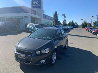 Used 2015 Chevrolet Sonic LT for sale in Duncan, BC