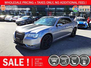 Used 2018 Chrysler 300 300 Limited RWD - Nav / Pano Sunroof / Leather for sale in Richmond, BC