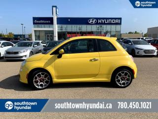 Used 2014 Fiat 500 SPORT/HEATED SEATS/AIR/CRUISE for sale in Edmonton, AB