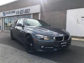 Used 2014 BMW 3 Series 320i XDRIVE-SPORT-RED LEATHER for sale in Toronto, ON