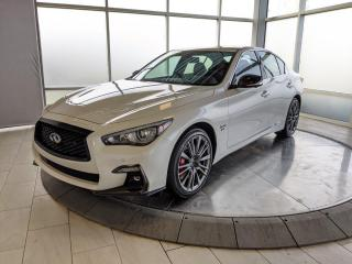 New 2020 Infiniti Q50 Red Sport I-LINE ProACTIVE 4dr AWD Sedan for sale in Edmonton, AB