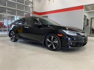 Used 2017 Honda Civic Sedan Touring for sale in Red Deer, AB