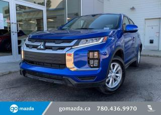 Used 2020 Mitsubishi RVR SE - AWD, BLINDSPOT, BACK UP, HEATED SEATS, UNDER 500 KMS! for sale in Edmonton, AB