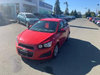 Used 2012 Chevrolet Sonic LT for sale in Duncan, BC