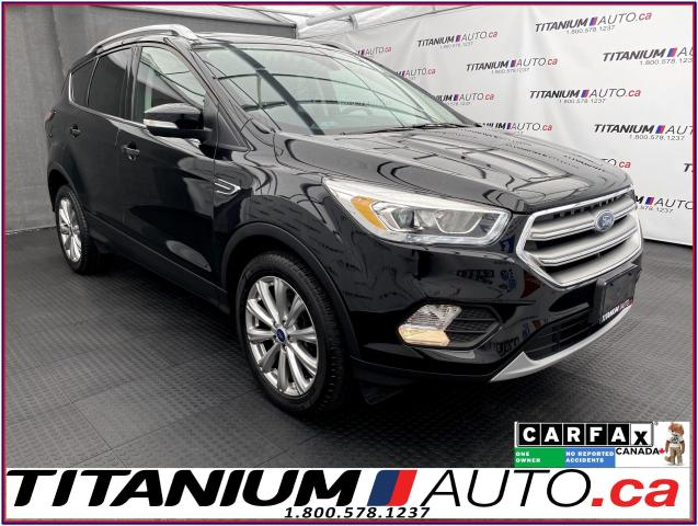 2017 Ford Escape Titanium+AWD+GPS+Pano Roof+Blind Spot+Leather+Came