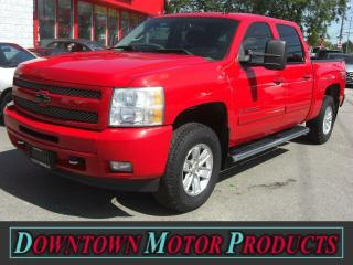 Used 2011 Chevrolet Silverado 1500 LT 4X4 CREW CAB for sale in London, ON