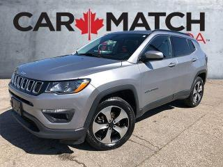 Used 2018 Jeep Compass NORTH / NAV / NO ACCIDENTS / 4X4 for sale in Cambridge, ON