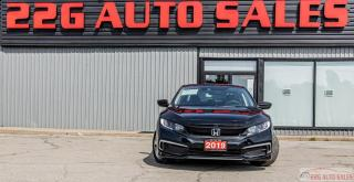 Used 2019 Honda Civic LX ACCIDENT FREE BACKUP CAM HEATED SEATS for sale in Brampton, ON