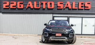 Used 2017 Land Rover Range Rover Evoque SE ACCIDENT FREE BACKUP CAM HEATED SEATS for sale in Brampton, ON