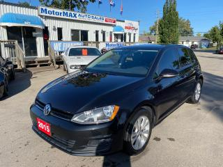 Used 2015 Volkswagen Golf 1.8 TSI-ONE OWNER-ACCIDENT FREE for sale in Stoney Creek, ON