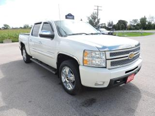 Used 2012 Chevrolet Silverado 1500 LTZ New tires Navigation Only 95000 km for sale in Gorrie, ON