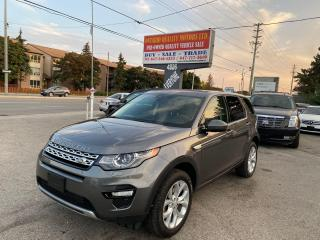 Used 2016 Land Rover Discovery Sport HSE for sale in Toronto, ON