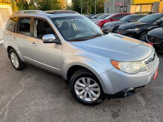 Used 2012 Subaru Forester TOURING/ 5 SPEED/ PANO ROOF/ BLUETOOTH/ ALLOYS ++ for sale in Scarborough, ON