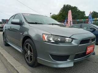 Used 2012 Mitsubishi Lancer SE-EXTRA CLEAN-BLUETOOTH-4 CYL-AUX-ALLOYS-MUST SEE for sale in Scarborough, ON
