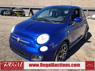 Used 2012 Fiat 500 Sport 2D Hatchback 1.4L for sale in Calgary, AB