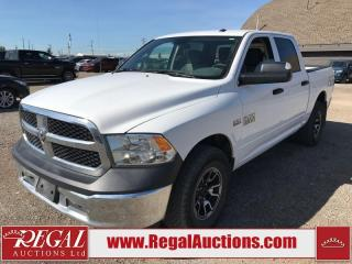 Used 2016 RAM 1500 SXT Crew CAB SWB 4WD 5.7L for sale in Calgary, AB