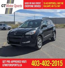 Used 2016 Ford Escape SE | $0 DOWN - EVERYONE APPROVED! for sale in Calgary, AB