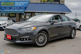 Used 2015 Ford Fusion Titanium for sale in Guelph, ON