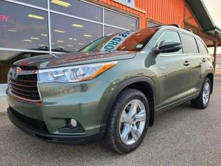 Used 2014 Toyota Highlander Hybrid Limited for sale in Pincher Creek, AB