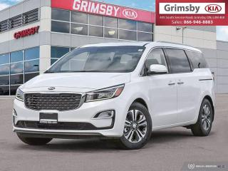 New 2021 Kia Sedona SX TECH|LEATHER|HARMAN/KARDON AUDIO|NAV|LOADED!! for sale in Grimsby, ON