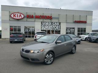 Used 2011 Kia Forte EX, Heated Seats, Bluetooth, Traction Control. for sale in Niagara Falls, ON
