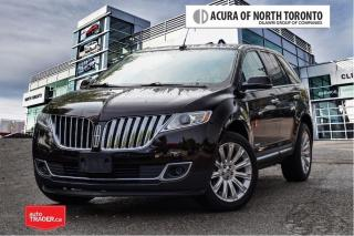 Used 2013 Lincoln MKX 4D Utility AWD No Accident| Remote Start| Back-Up for sale in Thornhill, ON