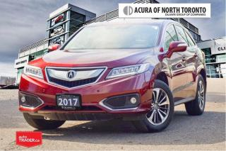 Used 2017 Acura RDX Elite at No Accident| Dealer Serviced| Remote Star for sale in Thornhill, ON