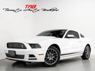 Used 2014 Ford Mustang V6 I NAVI SUNROOF I CAM I CLEAN CARFAX for sale in Vaughan, ON