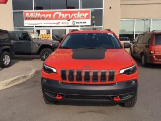 New 2021 Jeep Cherokee TRAILHAWK 4X4 / NAV for sale in Milton, ON
