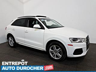 Used 2017 Audi Q3 Komfort TOIT OUVRANT - A/C - Sièges Chauffants - for sale in Laval, QC