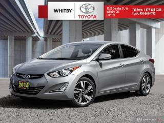 Used 2015 Hyundai Elantra Limited for sale in Whitby, ON