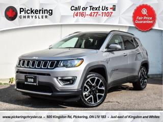 Used 2019 Jeep Compass Limited - Sunroof/Leather/Heated Seats/NAV/Carplay for sale in Pickering, ON