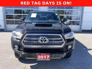 Used 2017 Toyota Tacoma 4WD DOUBLE CAB V6 MAN TRD SPORT for sale in North Bay, ON