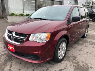 Used 2017 Dodge Grand Caravan SXT w/Bluetooth, Rear Air Cond, 2nd Row Pwr Window for sale in Hamilton, ON
