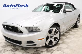 Used 2014 Ford Mustang GT *CONVERTIBLE *5.0L *V8 *CUIR *CRUISE *A/C for sale in Saint-Hubert, QC