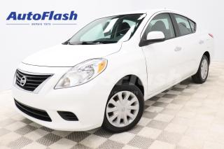 Used 2012 Nissan Versa SV *AUTO *BERLINE *A/C *GR-ELECTRIQUE *CRUISE for sale in Saint-Hubert, QC