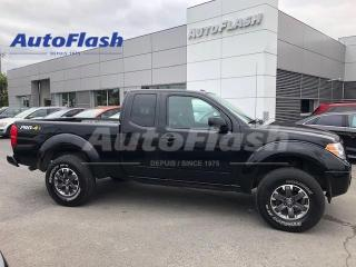 Used 2017 Nissan Frontier PRO-4X *LIFT-KIT! *M6 *4X4 *EXTENDED-CAB *CAMERA for sale in Saint-Hubert, QC