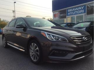 Used 2016 Hyundai Sonata Sport - Technology Package - Bluetooth - Sunroof for sale in Cornwall, ON