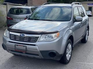 Used 2010 Subaru Forester 5dr Wgn Auto 2.5X Sport for sale in Scarborough, ON