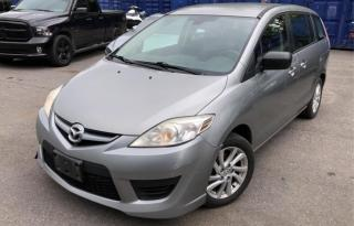 Used 2010 Mazda MAZDA5 6 MONTH WARRANTY INCULDED for sale in Brampton, ON