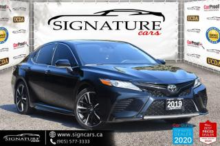 Used 2019 Toyota Camry XSE. RED LEATHER INT.ONE OWNER. NO ACCIDENT. for sale in Mississauga, ON