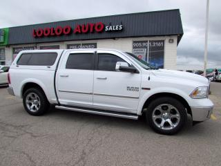 Used 2015 RAM 1500 Laramie Crew Cab Diesel 4WD Camera Bluetooth Certified for sale in Milton, ON