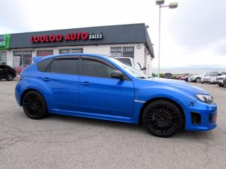 Used 2012 Subaru Impreza WRX STi STI HATCHBACK 6 SPEED MANUAL BLUETOOTH CERTIFIED for sale in Milton, ON