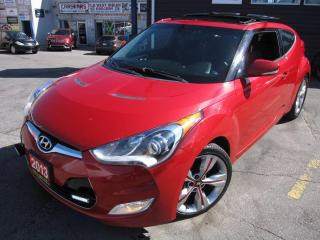 Used 2014 Hyundai Veloster SUNROOF, NAVI, LEATHER NAVI, PANORAMIC ROOF! for sale in Scarborough, ON
