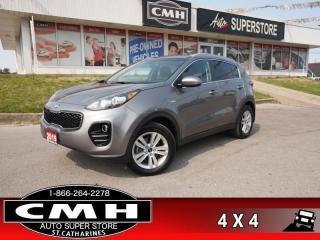 Used 2018 Kia Sportage LX  AWD CAM HTD-SEATS BT for sale in St. Catharines, ON