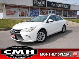 Used 2016 Toyota Camry LE  CAM BLUETOOTH HTD-SEATS P/SEAT 16-AL for sale in St. Catharines, ON