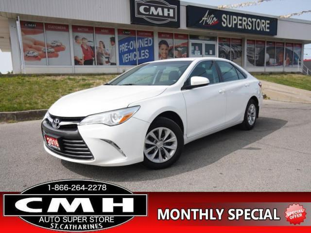 2016 Toyota Camry LE  CAM BLUETOOTH HTD-SEATS P/SEAT 16-AL