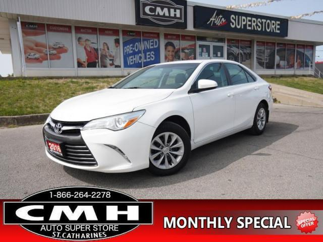 2016 Toyota Camry LE  CAM BLUETOOTH HTD-SEATS P/SEAT